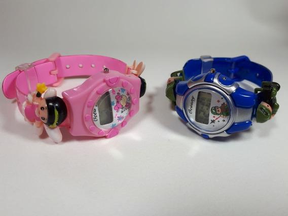 Kit 20 Relógios Infantil Crianças Bebês Kids Digital Barato