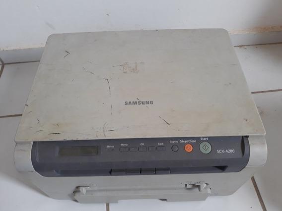 Impressora Sansung Scx - 4200 Usada