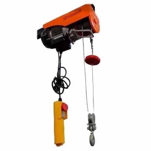 Aparejo Electrico Lusqtoff N2 250 500 Kg 12m Mando Distancia