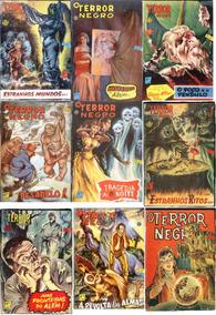O Terror Negro -ed. La Selva Coleção Digital Com 26 Revistas