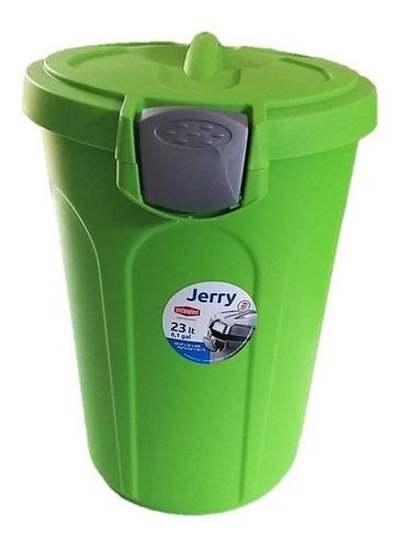 Imagem 1 de 7 de Container Pote Para Ração 23l (9,2kg Aprox) Tampa Hermética