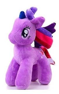 Peluche Pony Little Pony Unicornio Violeta 23cm