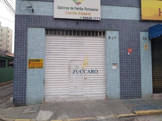 Salão Para Alugar, 60 M² Por R$1.065,00 Total/mês - Vila Camargos - Guarulhos/sp - Sl0419