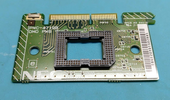 Placa Dlp Projetor Nec Np115