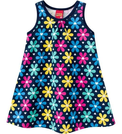 Conjunto Menina 2 Anos Vestido Flores Kyly