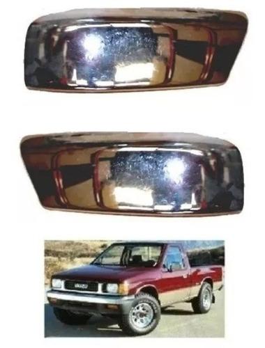 Imagen 1 de 4 de Puntera Paragolpe Isuzu Chevrolet Luv Cromada Cada Uno
