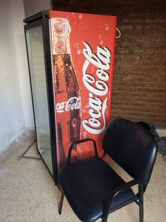 Heladera Ploteada Coca Cola Vidrio Exhibidora