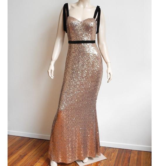 Vestido Sirena Lentejuelas Elastizado, Excelente Calce.