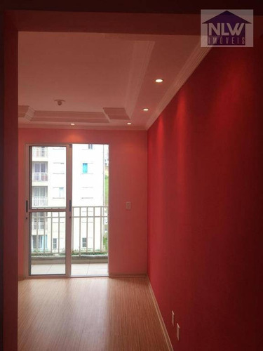 Apartamento Com 2 Dormitórios À Venda, 48 M² Por R$ 215.000,00 - Jardim São Miguel - Ferraz De Vasconcelos/sp - Ap2232