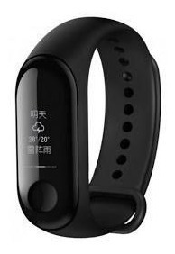 Miband 3 Pulseira Inteligente Smart Watch Prova Dagua Xiaomi