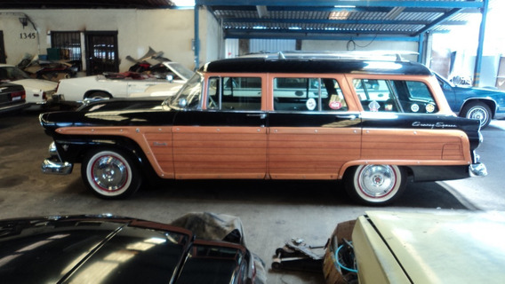 Ford Country Square Woody Wagon 1955