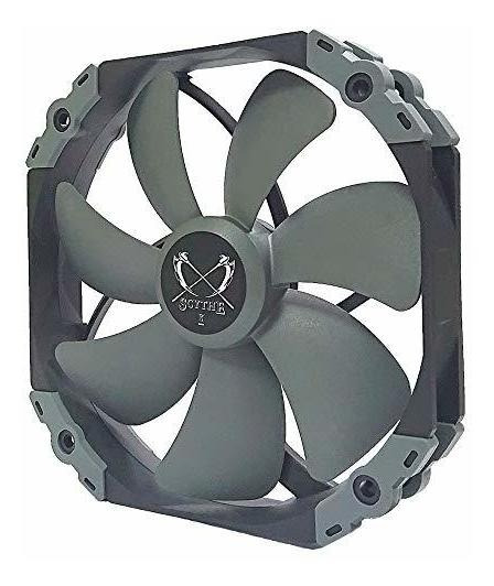 Ventilador Scythe Kaze Flex 140mm Quiet Fan, Pwm 300-1800rpm