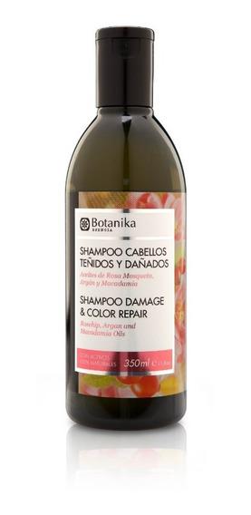 Shampoo Cabellos Teñidos Y Dañados - Botanika (350 Ml)