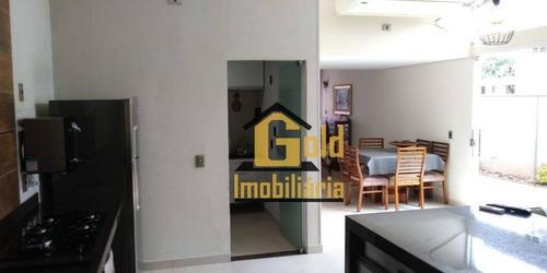 Excelente Casa Com 03 Dormitórios No Bairro - Ca0551