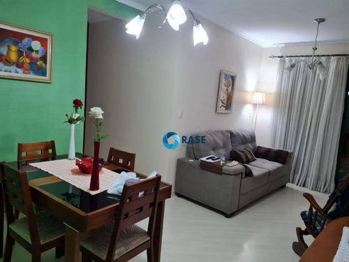 Imagem 1 de 14 de Apartamento Com 3 Dormitórios À Venda, 65 M² Por R$ 340.000 - Interlagos - São Paulo/sp - Ap12768