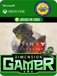 Destiny 2 Shadowkeep - Xbox One Modo Local + En Linea