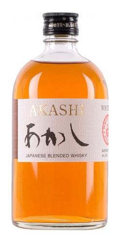 Imagen 1 de 4 de Whisky Japonés Akashi White 500ml