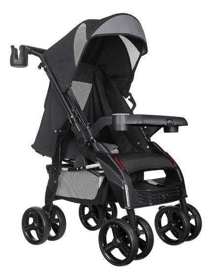 Carrinho De Bebê Passeio Upper - Tutti Baby - Preto