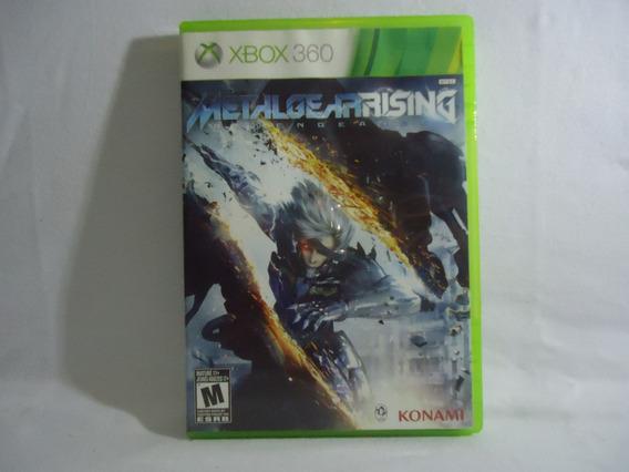 Jogo Xbox 360 - Metal Gear Rising Revengeance - Físico