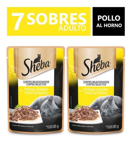 Sheba Alimento Húmedo Gato 7 Sobres Pollo