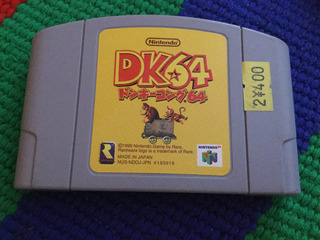 Dk 64 Donkey Kong Nintendo 64 Japones