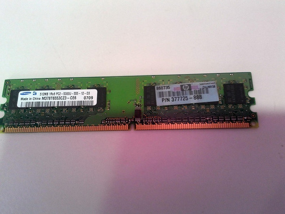 Memoria Pc 512 Mb 1rx8