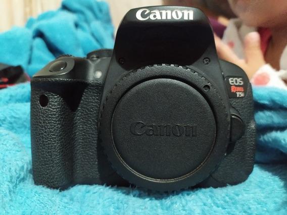 Câmera Canon T5i Com Poucos Clicks