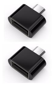 Otg Micro Usb Adaptador De Celular Uso De Pen Drive 2 Unidad
