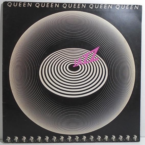 Queen 1978 Jazz Lp Capa Dupla Inclui Pôster Dont Stop Me Now
