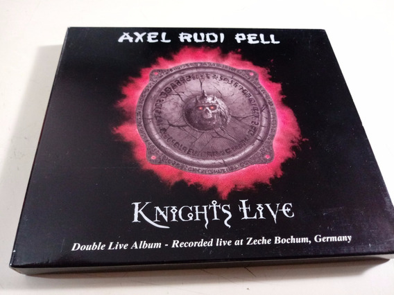 Axel Rudi Pell - Knights Live - Cd Doble , Made In Germany