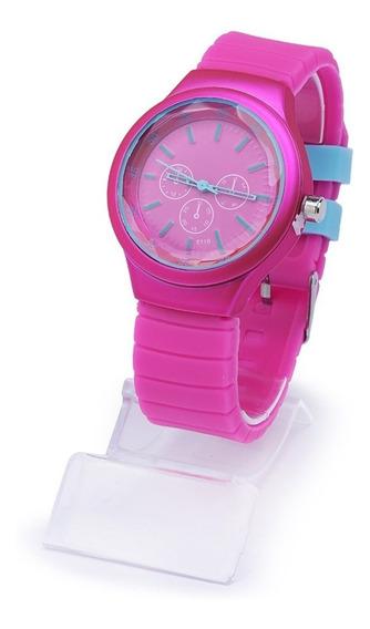 Kit 5 Relógios Feminino Silicone Atacado E Revenda + Caixa