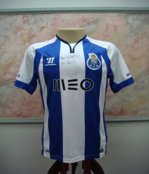 Camisa Futebol Porto Portugal Warrior Jogo Antiga 2294