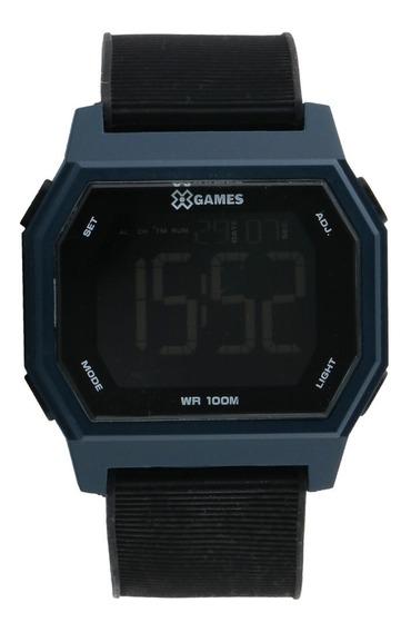 Relógio X-games Digital Azul E Preto Xgppd115