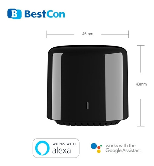 Rm4c Mini Bestcon Broadlink P/ Alexa E Google Envio Imediato