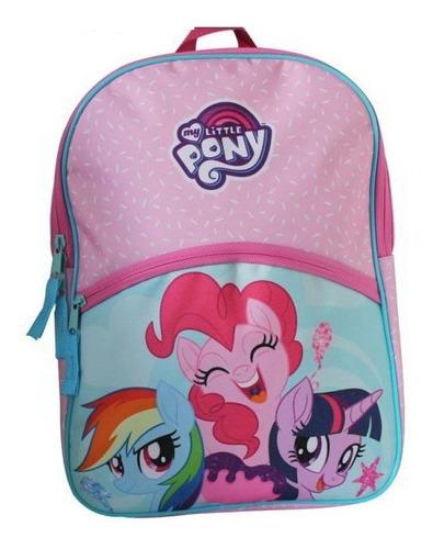 Mochila Escolar Infantil My Little Pony Importada Cyber