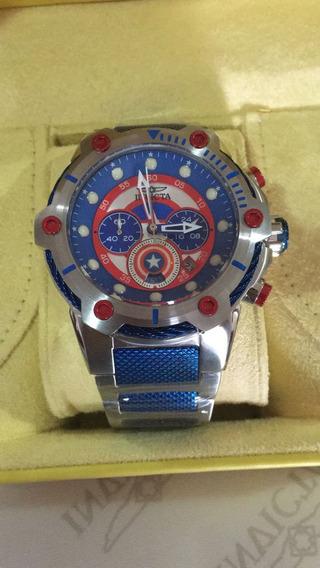 Relógio Invicta Marvel Capitão América A Prova D
