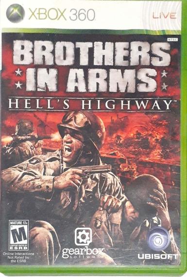 Jogo Xbox 360 Brothers In Arms Original Usado Funcionando