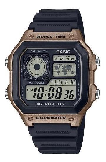 Reloj Casio Core 10 Años Modelo Ae-1200wh