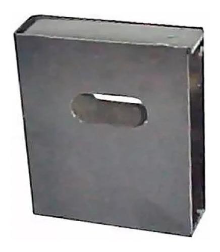 Caja De Cerrojo Chica Hogar Rejas Sin Pintar - Tyt