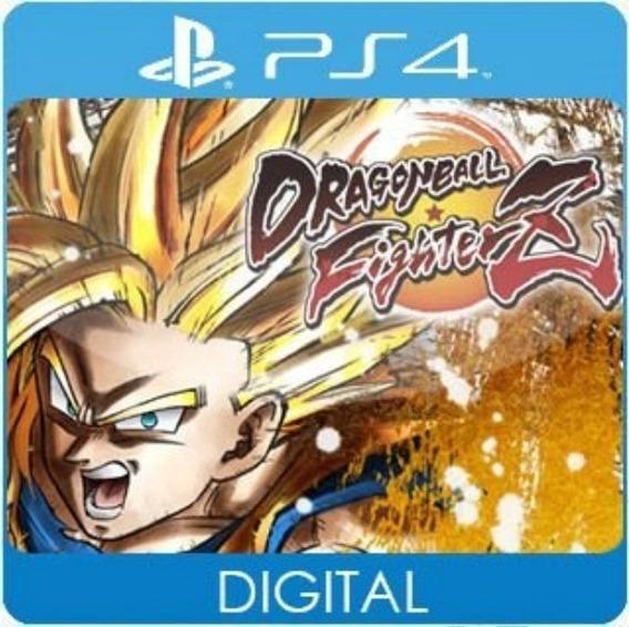 Dragon Ball Fighterz Z / Ps4 / 1 / Envio Hoje