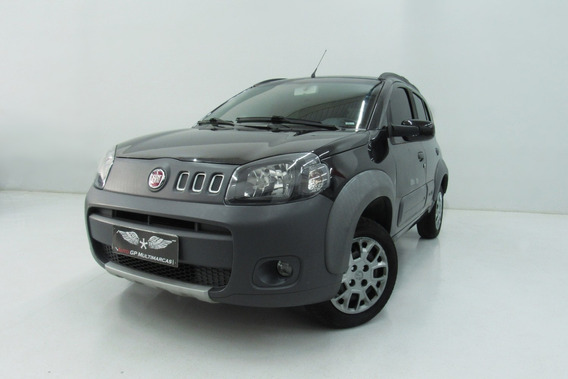 Uno Way 1.0 Evo Fire Flex 8v 5p 2013 Preto