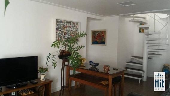 Cobertura Com 2 Dormitórios À Venda, 185 M² Por R$ 1.810.000 - Cidade Monções - São Paulo/sp - Co0098