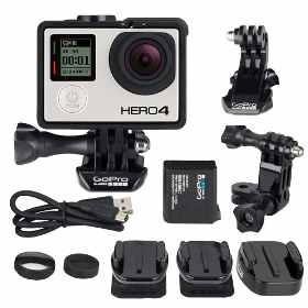 Câmera Gopro Hero 4 Black Music Chdbx-401 4k Wifi Original
