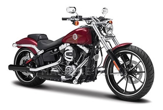Miniatura Harley-davidson 2016 Breakout - Vermelha 1:18 S35