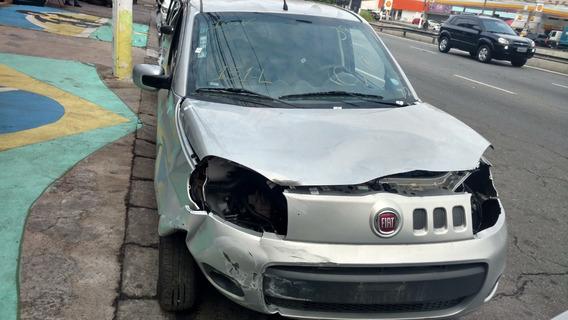 Sucata Fiat Uno Vivace 1.0 Ano 2016 Motor, Cambio E Peças