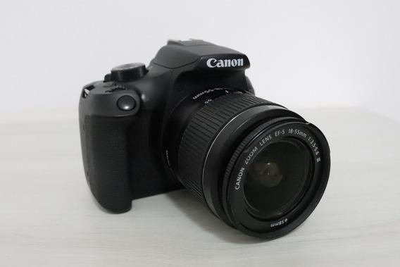 Canon T6 + Lente 18-55 + Bolsa Canon