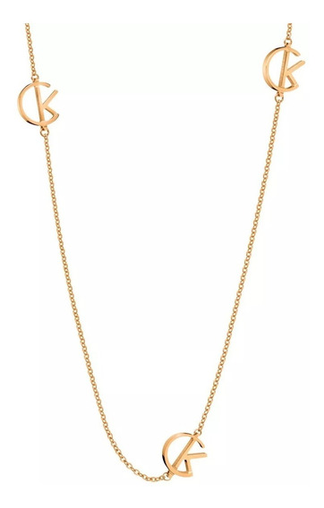 Collar Calvin Klein League Ckj6dpn1001 Dorado Rose