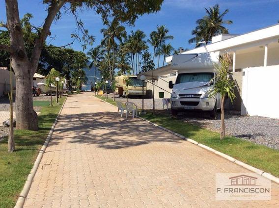 Camping Para Motor Home E Trailer Para Temporada, Praia De Barequeçaba, São Sebastião. - Gr0001