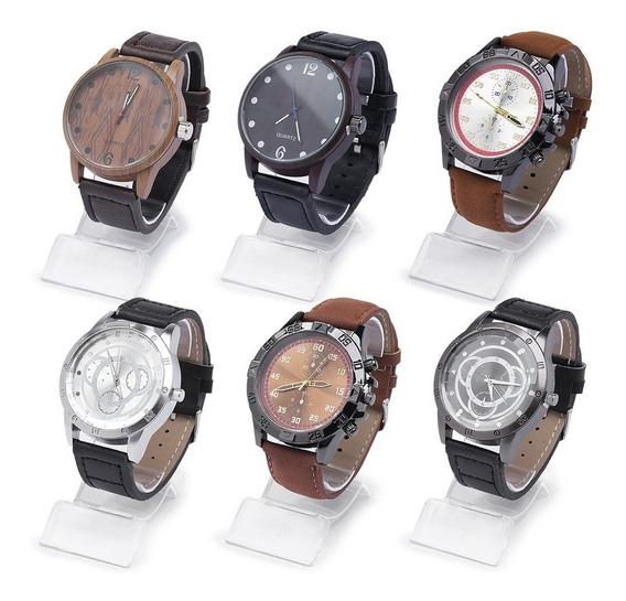 5 Relógios Masculino Vários Modelos Atacado E Revenda