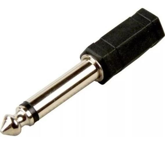 Plug Adaptador P2 P10 Conector Fone - Mix Acessorios